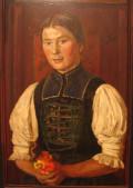 Porträt Öl auf Leinwand