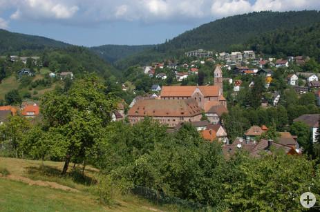 Alpirsbach Gesamtansicht