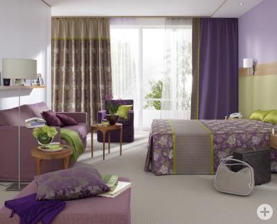 Genau richtig für die Kalte Jahreszeit, ein gemütlich eingerichtet Schlafzimmer.