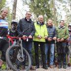 "Eröffnung des Königsfelder Mountainbike Parcours ""Drop Königsfeld"""