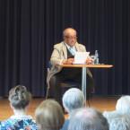 Der Bestsellerautor Dr. Prinz Asfa-Wossen Asserate beeindruckte die zahlreichen Besucher mit seinem Vortrag und seiner Kenntnis und Sicht der Dinge auch in der anschließenden Diskussionsrunde.