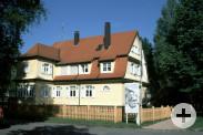 Außenansicht vom Albert Schweitzer Haus