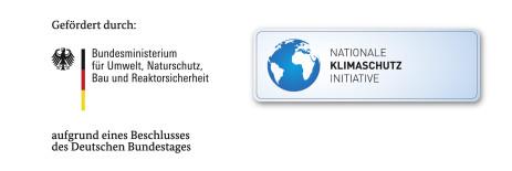 Logos Klimaschutz und Bundesministerium