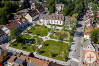Zinzendorfplatz Luftaufnahme