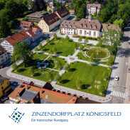 Zinzendorfplatzbroschüre deutsch Titelseite